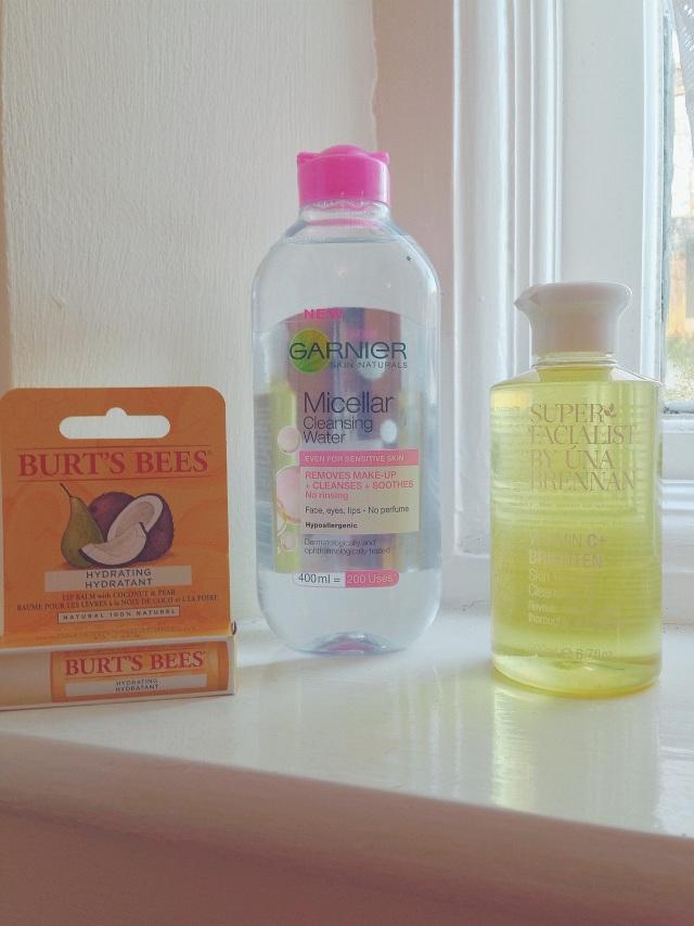 Skincare Una Brennan Garnier Micellar Burts Bees