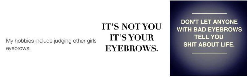 eyebrow d