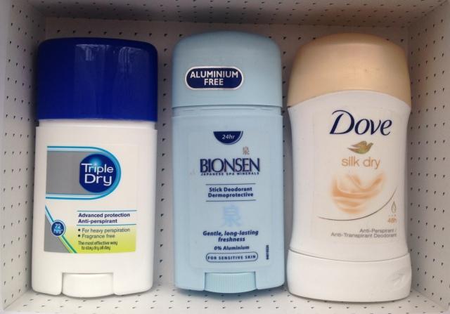 Dove deodorant Bionsen Triple Dry