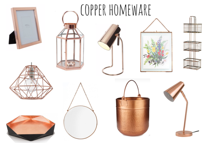 copper homeware