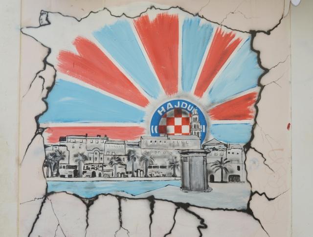 Croatia Split Hajduk Graffiti