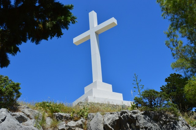 Croatia Split White Cross Mountain