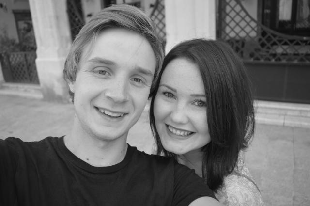 Black and White Couple Croatia