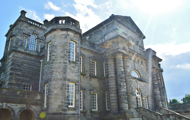 seaton delaval hall outside