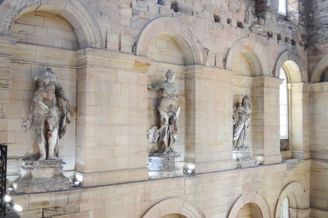 statues seaton delaval hall