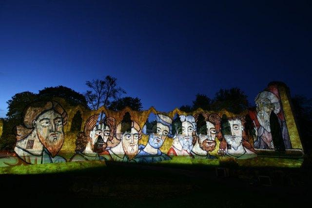 illuminating york museum gardens