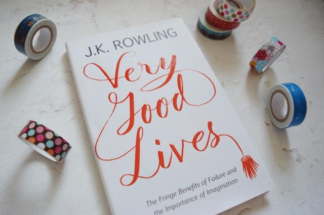 JK Rowling Very Good Lives